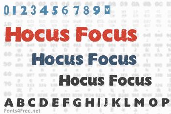 Hocus Focus Font