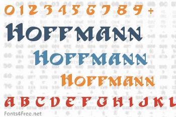 Hoffmann Font