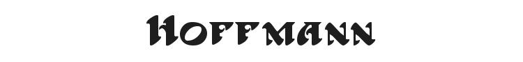Hoffmann Font Preview