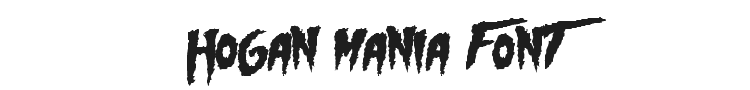 Hogan Mania Font Preview