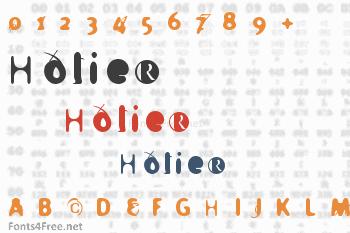 Holier Font