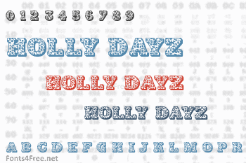 Holly Dayz Font