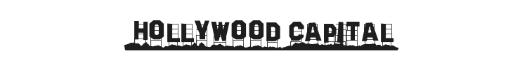 Hollywood Capital Font
