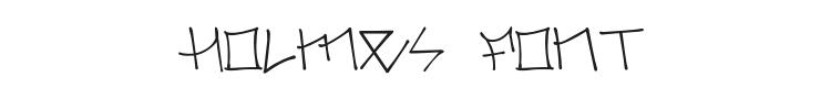 Holmes Font