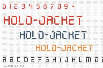 Holo-Jacket Font