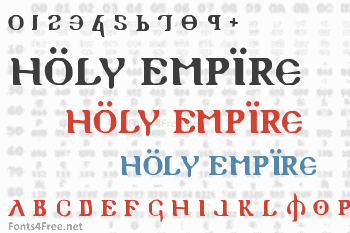 Holy Empire Font