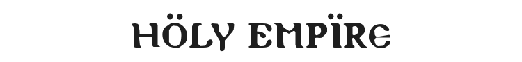 Holy Empire Font Preview
