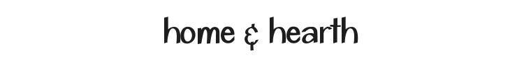Home & Hearth Font