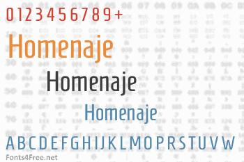 Homenaje Font