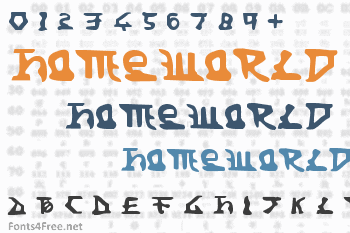 Homeworld Font
