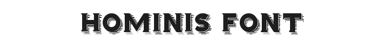 Hominis Font Preview