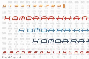 Homoarakhan Font