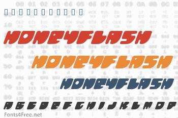 Honeyflash Font