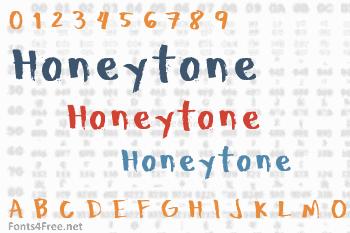 Honeytone Font