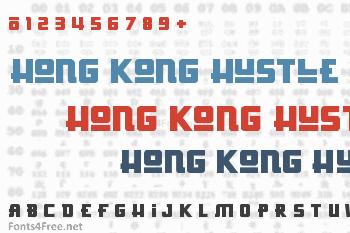 Hong Kong Hustle Font
