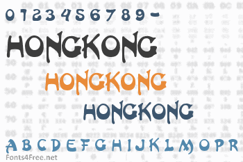 HongKong Font
