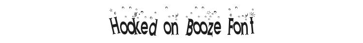 Hooked on Booze Font