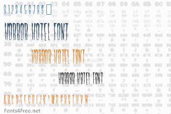 Horror Hotel Font
