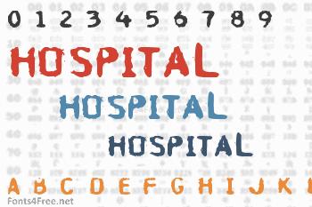 Hospital Font