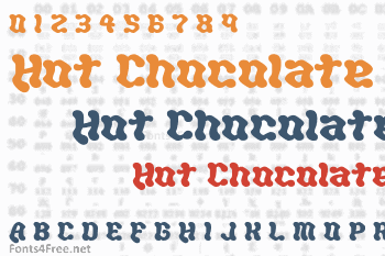 Hot Chocolate Font
