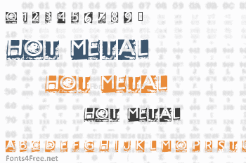 Hot Metal Font