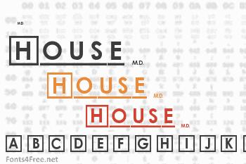 House M.D. Font