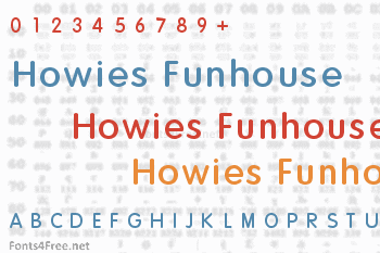Howies Funhouse Font