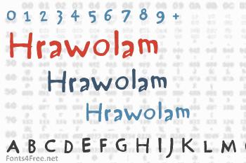 Hrawolam Font