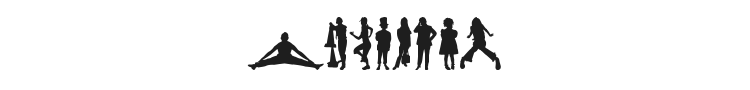 Human Silhouettes Five