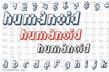 Humanoid Font