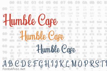 Humble Cafe Font
