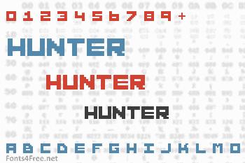 Hunter Font