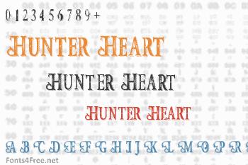 Hunter Heart Font