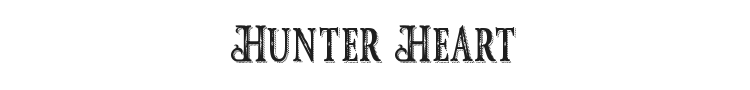 Hunter Heart Font Preview