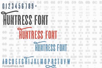 Huntress Font