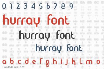 Hurray Font