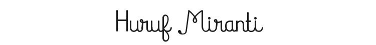 Huruf Miranti