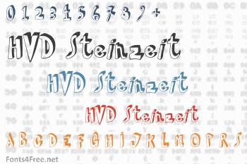 HVD Steinzeit Font