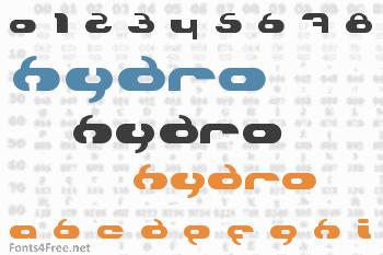 Hydro Font