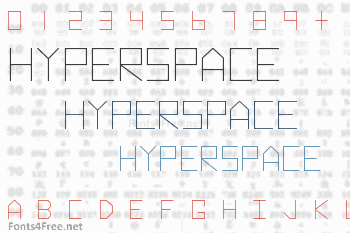 Hyperspace Font