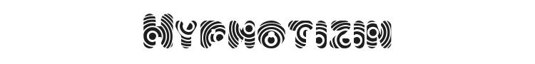 Hypmotizin Font Preview