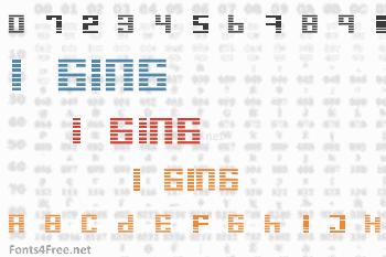 I Ging Font