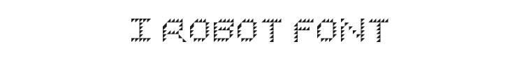 I Robot Font