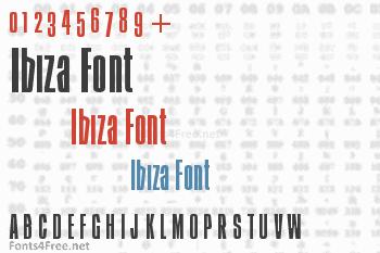 Ibiza Font