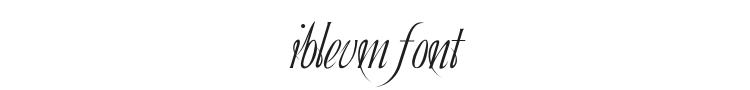 Ibleum Font