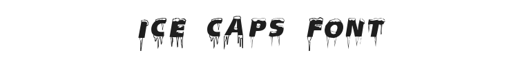 Ice Caps Font Preview