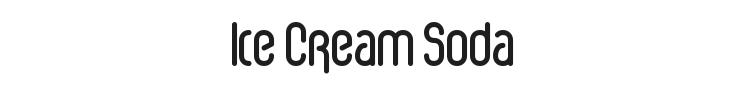 Ice Cream Soda Font Preview