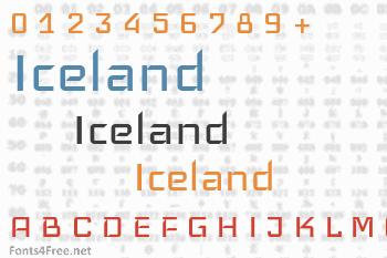 Iceland Font