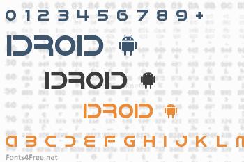 IDroid Font