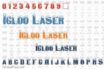 Igloo Laser Font